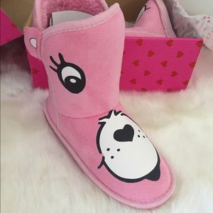 Care Bears pink boots